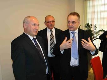 Wizyta Premiera Waldemara Pawlaka w Druteksie