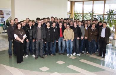 Belgijscy studenci w Fakro