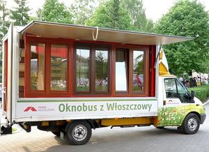 Oknobusem w letni rejs