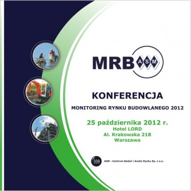 Konferencja Monitoring Rynku Budowlanego 2012