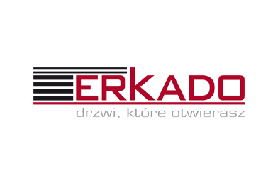 Znalezione obrazy dla zapytania erkado drzwi logo