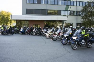 Na motocyklach do FAKRO