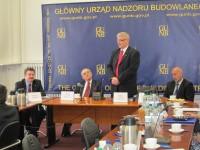 Przedstawiciel firm członkowskich członkiem Rady Wyrobów Budowlanych GUNB