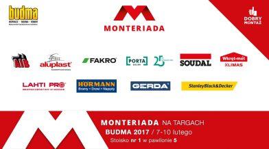MONTERIADA 2017 na targach BUDMA już za niecały miesiąc!