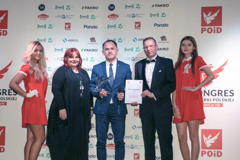 Aveex_for_POiD_VIII_Kongres_Stolarki_Polskiej_nagrody