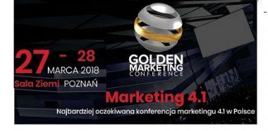 Preferencyjne warunki dla Członków Związku na udział w Golden Marketing Conference.