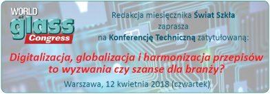 Konferencja techniczna miesięcznika Świat Szkła
