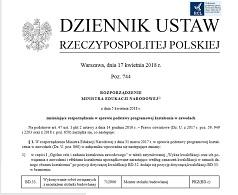 Monter Stolarki Budowlanej - podstawa programowa kształcenia w zawodzie opublikowana