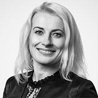 Izabela Kuczyńska – z działu handlowego w firmie KRISPOL