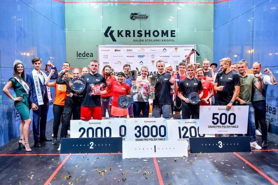 KRISHOME - zwycięzcy turnieju squasha