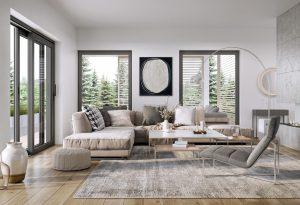 Wielkoformatowe okna i drzwi tarasowe Vetrex. Fot. Vetrex